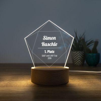 Beleuchtung - LED-Leuchte mit Stern