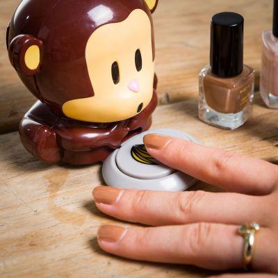 Badezimmer - Nagellacktrockner Affe