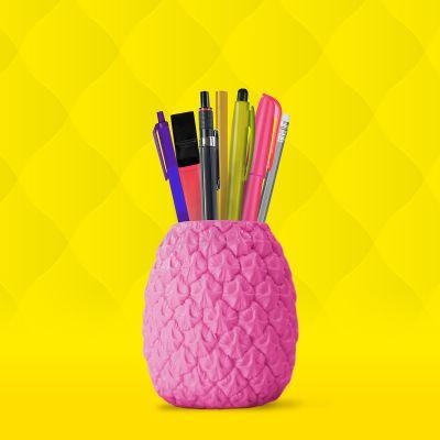 Spass im Büro - Ananas Stifthalter