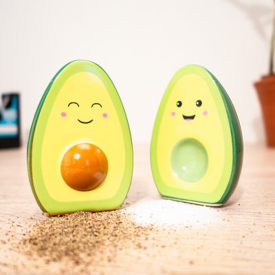 Küche & Grill - Happy Avocado Salz- und Pfefferstreuer