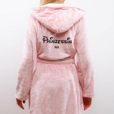Geschenkefinder - Personalisierbarer Bademantel Prinzessin