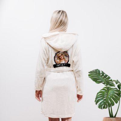 Homewear - Personalisierbarer Bademantel mit Foto & Text