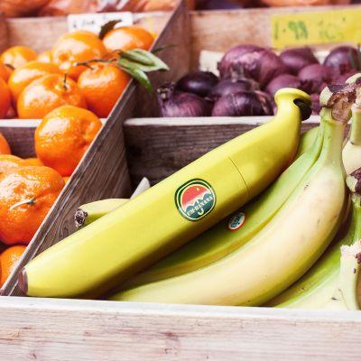 Draussen - Bananen Regenschirm