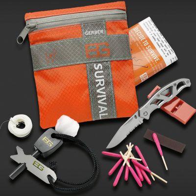 Wandern & Camping Gadgets - Bear Grylls Survival Kit - Überlebensset