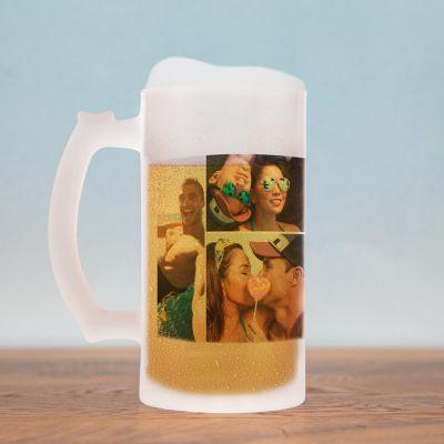 Geburtstagsgeschenk zum 30. - Bierkrug mit 5 Bildern