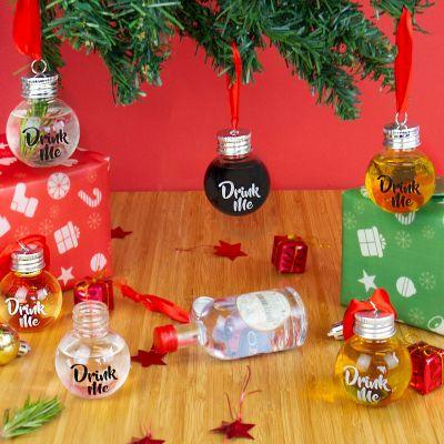 Weihnachtsdeko - Likör Weihnachtsbaum-Kugeln
