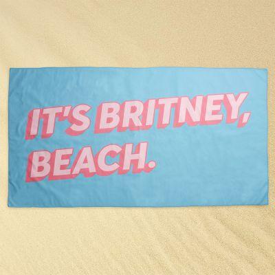 Draussen - Britney Beach Strandtuch
