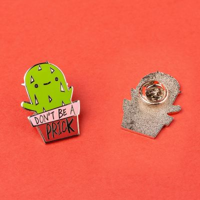 Schmuck - Kaktus Anstecknadel