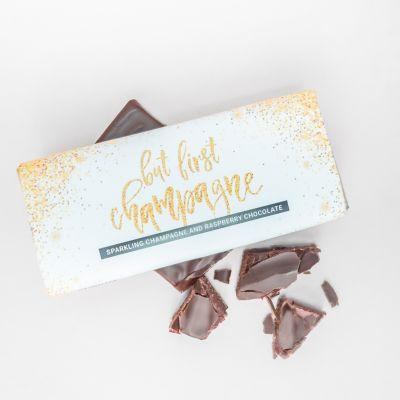 Exklusive Süßigkeiten - Champagner-Himbeer Schokolade