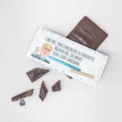 Exklusive Süßigkeiten - Trump Schokolade