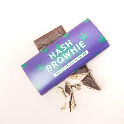 Exklusive Süßigkeiten - Hash Brownie Schokolade