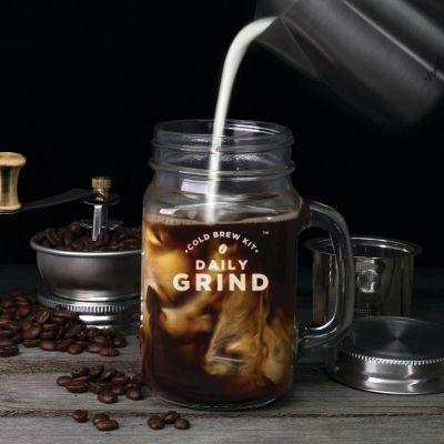 Küche & Grill - Daily Grind Kaffeemühle mit Henkelglas