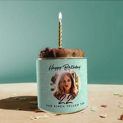 Geburtstagsgeschenk zum 50. - Personalisierbarer Cancake zum Geburtstag