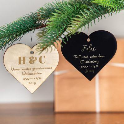 Wohnen - Weihnachtsschmuck mit Herz