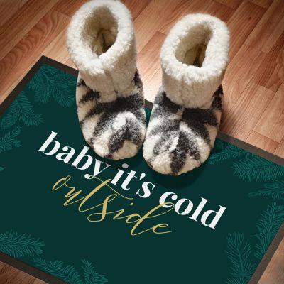 Personalisierte Fußmatten - Die Fußmatte für Weihnachten