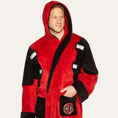 Kleidung & Accessoires - Deadpool Bademantel