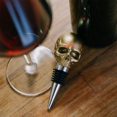Bar Accessoires - Totenschädel Flaschenverschluss