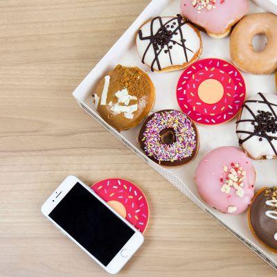 Ladegeräte - Drahtloses Ladegerät Donut