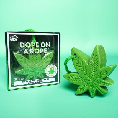 Badezimmer - Cannabis-Blatt Seife