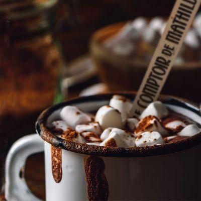 Nikolausgeschenke - Heiße Schokolade am Löffel