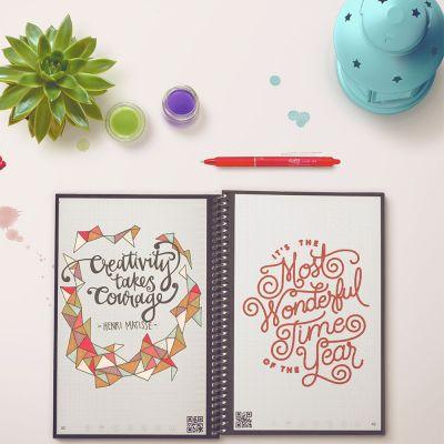 Spass im Büro - Wiederverwendbares Notizbuch Everlast mit Smartphone App