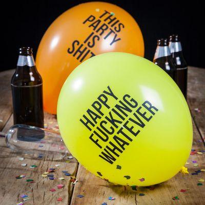 Geburtstagsgeschenke für Männer - Fiese Luftballons - 12er Pack
