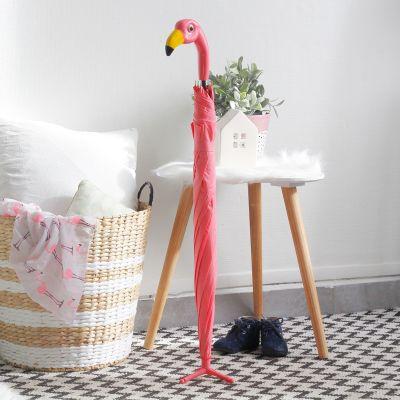 Draussen - Flamingo Regenschirm