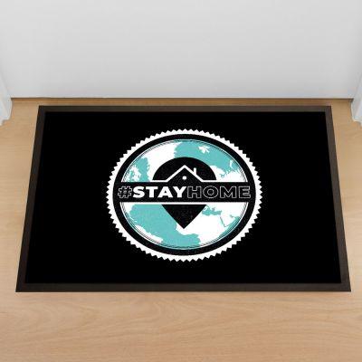 Fußmatte Stay Home