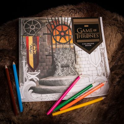Game Of Thrones - Game Of Thrones Malbuch