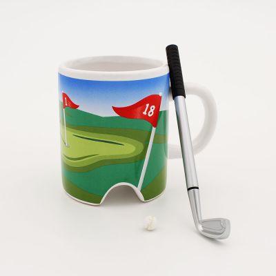 Spass im Büro - Golf Tasse
