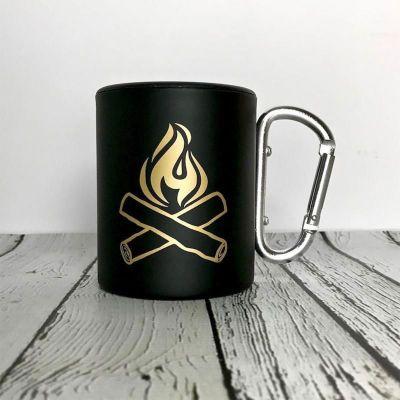 Happy Camper Karabiner-Tasse mit Deckel