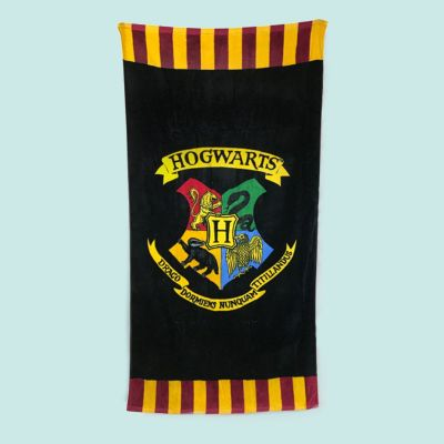 Film & Serien - Harry Potter Hogwarts Handtuch
