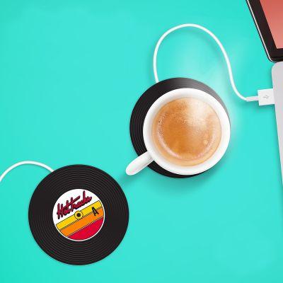 Spass im Büro - USB Tassenwärmer Schallplatte