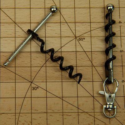 Wandern & Camping Gadgets - Kleinster Korkenzieher der Welt