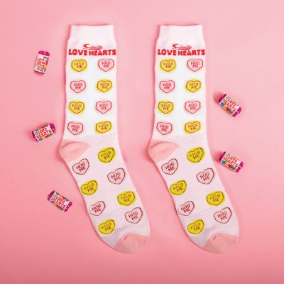 Kleidung & Accessoires - Love Hearts Socken