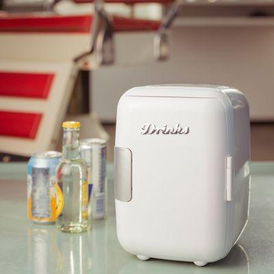 Geburtstagsgeschenk für Freund - Mini Retro Kühlschrank