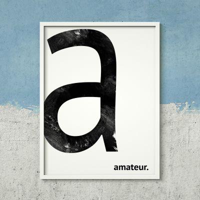 Exklusive Poster - Personalisierbares Poster - Monogramm