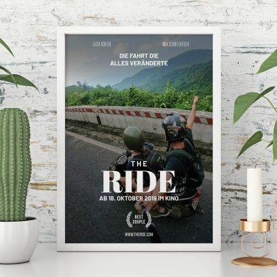 Hochzeitstag Geschenk - Personalisierbares Poster im Kinoplakat-Stil