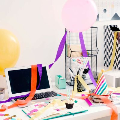 Spass im Büro - Geburtstagsparty Box fürs Büro