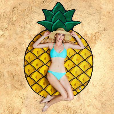 Draussen - Ananas Strandtuch