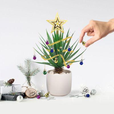 Deko - Christbaumschmuck für Zimmerpflanzen