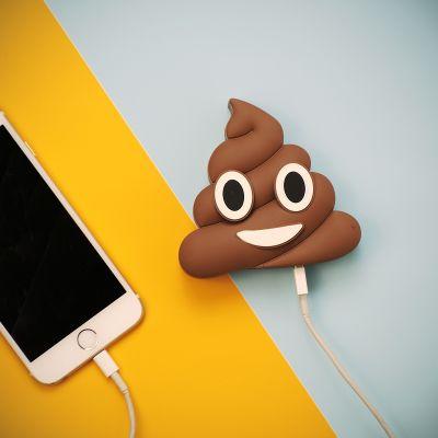 Handy Gadgets - Emoji Poop Ladegerät für Smartphones