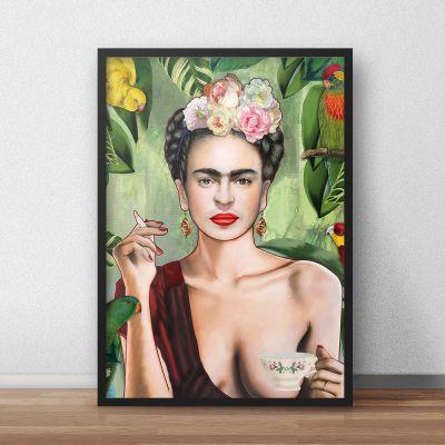 Poster - Poster Frida by Nettsch