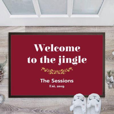 Geschenkideen - Fußmatte mit 4 Zeilen