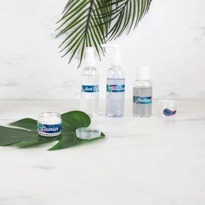 Reise Gadgets - Handgepäck Kosmetikflaschen 4er-Set