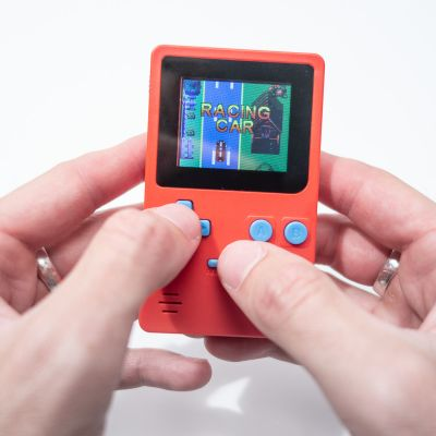 Wichtelgeschenke - Retro Mini-Spielekonsole
