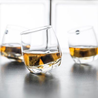 Geburtstagsgeschenk zum 50. - Rocking Whisky Schwenkgläser 6er Set