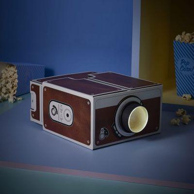Handy Gadgets - Smartphone Projektor 2.0 Retro-Style
