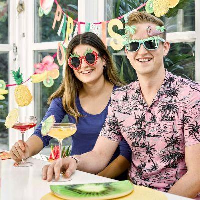 Kleidung & Accessoires - Erdbeeren Sonnenbrille