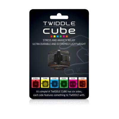 Spass im Büro - Twiddle Cube Anti-Stress-Würfel